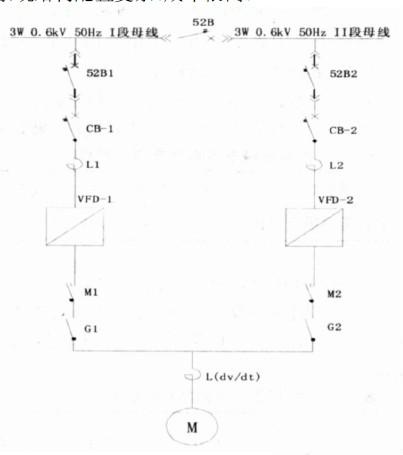 变频器调速控制典型接线方式