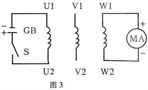 三相异步电动机的接线判别