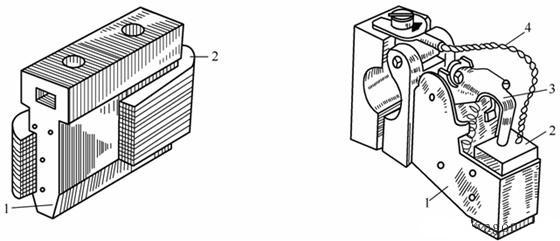直流电机纵向剖视图