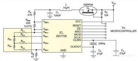 举例详解四导线电阻压力传感器的误差补偿