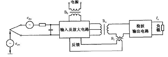 热电偶温度变送器原理     为了克服放大电路的非线性及增益,负载变化
